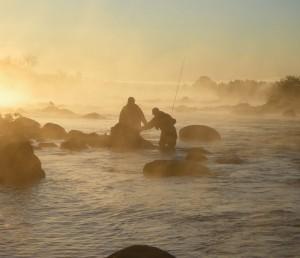 FishermenWading